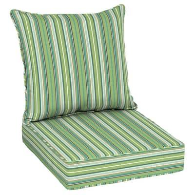 Oak Cliff 24 x 24 Sunbrella Foster Surfside Deep Seating Outdoor Lounge Chair Cushion