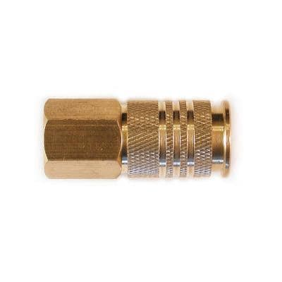 1/4 in. Universal Brass Coupler with 1/4 in. Female NPT
