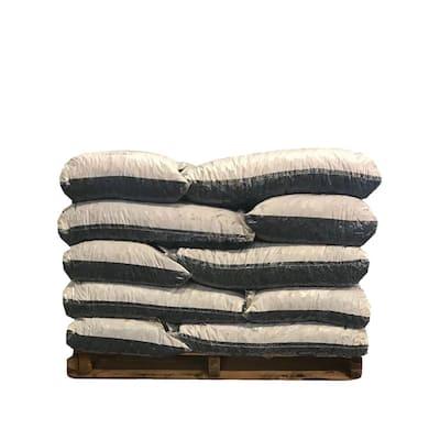 37.5 cu. ft. Brown Rubber Mulch (25 Bags)