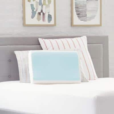 Cooling Gel Memory Foam Contour Pillow
