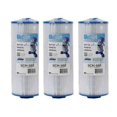 Marquis Spa Filter Replacement 20041 20042 Cartridge (3-Pack)