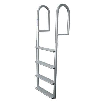 4- Step Wide Rung Aluminum Dock Ladder