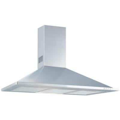 Granada 48 in. Under Cabinet Convertible Range Hood with Light in Stainless Steel