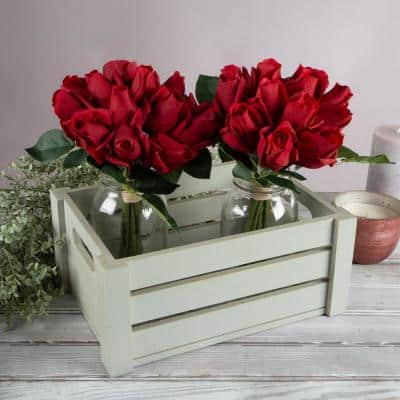 Artificial Red Roses (Set of 24)