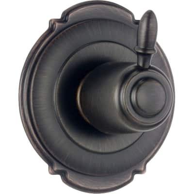 Victorian 1-Handle 3-Setting Diverter Valve Trim Kit in Venetian Bronze (Valve Not Included)