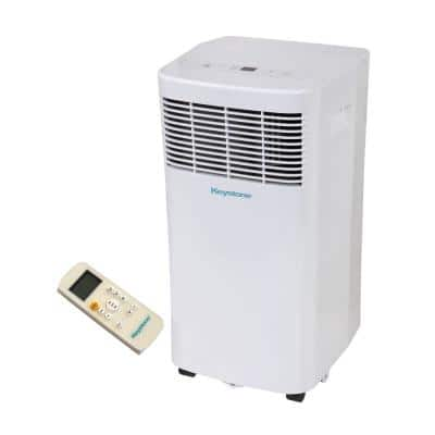 8,000 BTU 115-Volt Portable Air Conditioner with Dehumidifier and Remote
