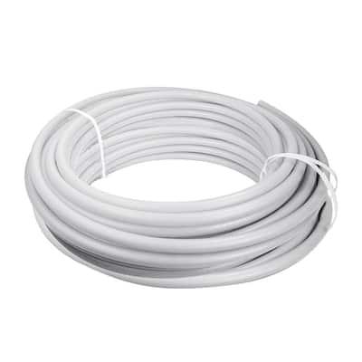3/4 in. x 500 ft. PEX Tubing Potable Water Pipe - White