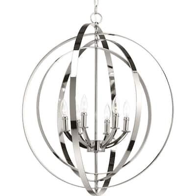 Equinox Collection Six-Light Pendant