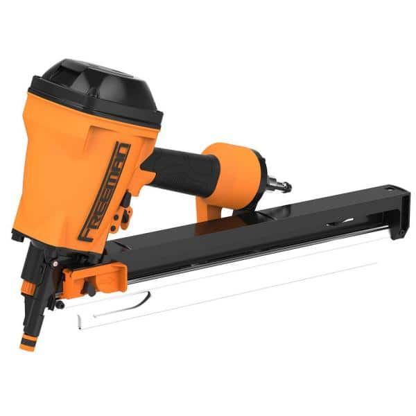 Freeman Pneumatic 3 1 4 In 21 Degree Compact Lightweight Full Round Head Framing Nailer G22183clw The Home Depot