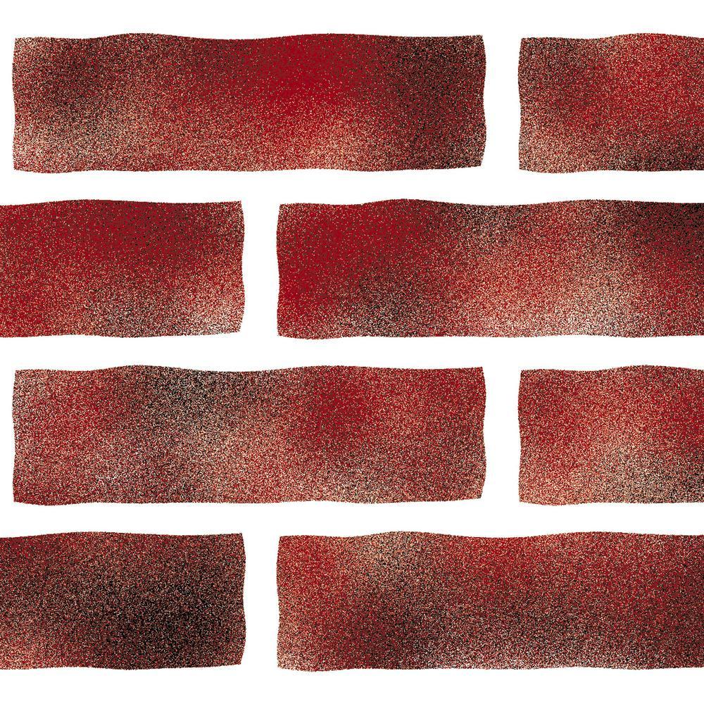 Faux Brick Wall Stencil