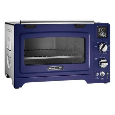 2000 W 4-Slice Cobalt Blue Convection Toaster Oven