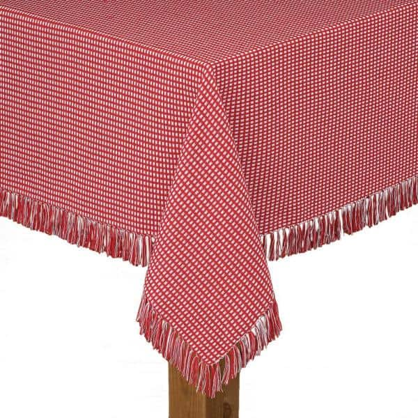 Tablecover 29 x 72 1 Pc Red Plaid