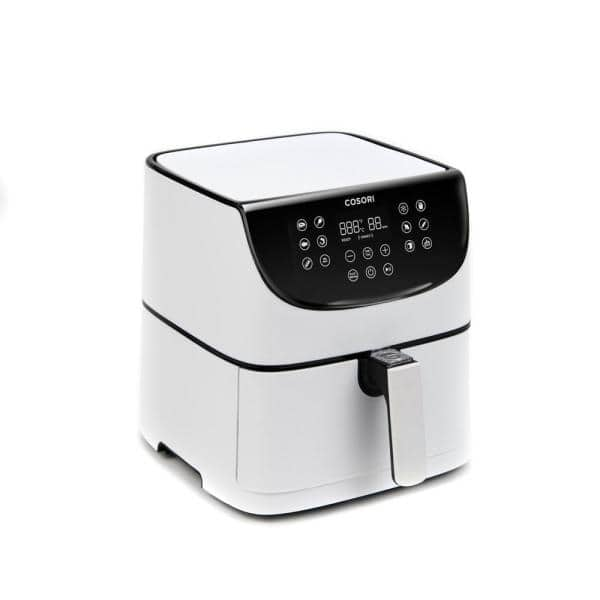 Cosori Premium 5.8 Qt. White Air Fryer with Skewer Rack Set-KAAPAFCSNUS0022  - The Home Depot