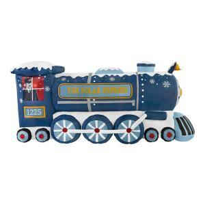 4 ft Pre-Lit LED Airblown Polar Express Train Christmas Inflatable