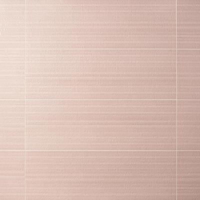 Angela Harris Harmony Deco Corallo 11.81 in. x 35.43 in. Satin Ceramic Wall Tile (11.62 sq. ft./Case)