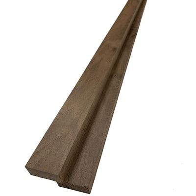 1 in. x 2 in. x 8 ft. Walnut S4S Board (2-Pack)