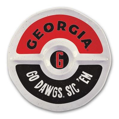 University of Georgia 15 in. Chip and Dip Server