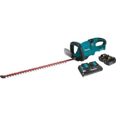 18-Volt X2 (36-Volt) LXT Lithium-Ion Cordless Hedge Trimmer Kit with Two 5.0 Ah Batteries and Charger