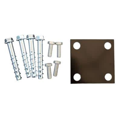 Mounting Hardware for Concrete/Masonry Application for INTEX Millwork Post Mount System