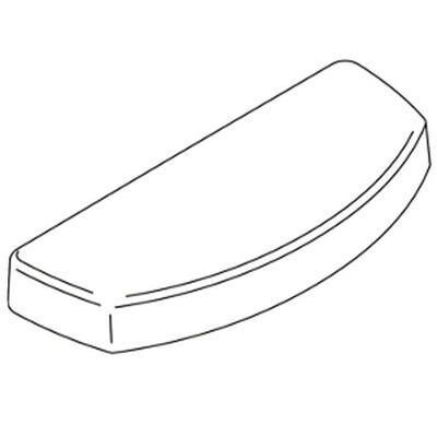 Toilet Tank Cover in White