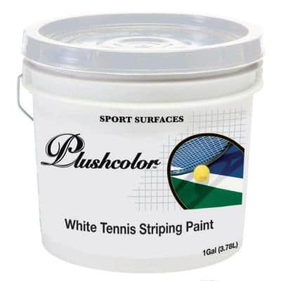 1 gal. White Tennis Striping Paint