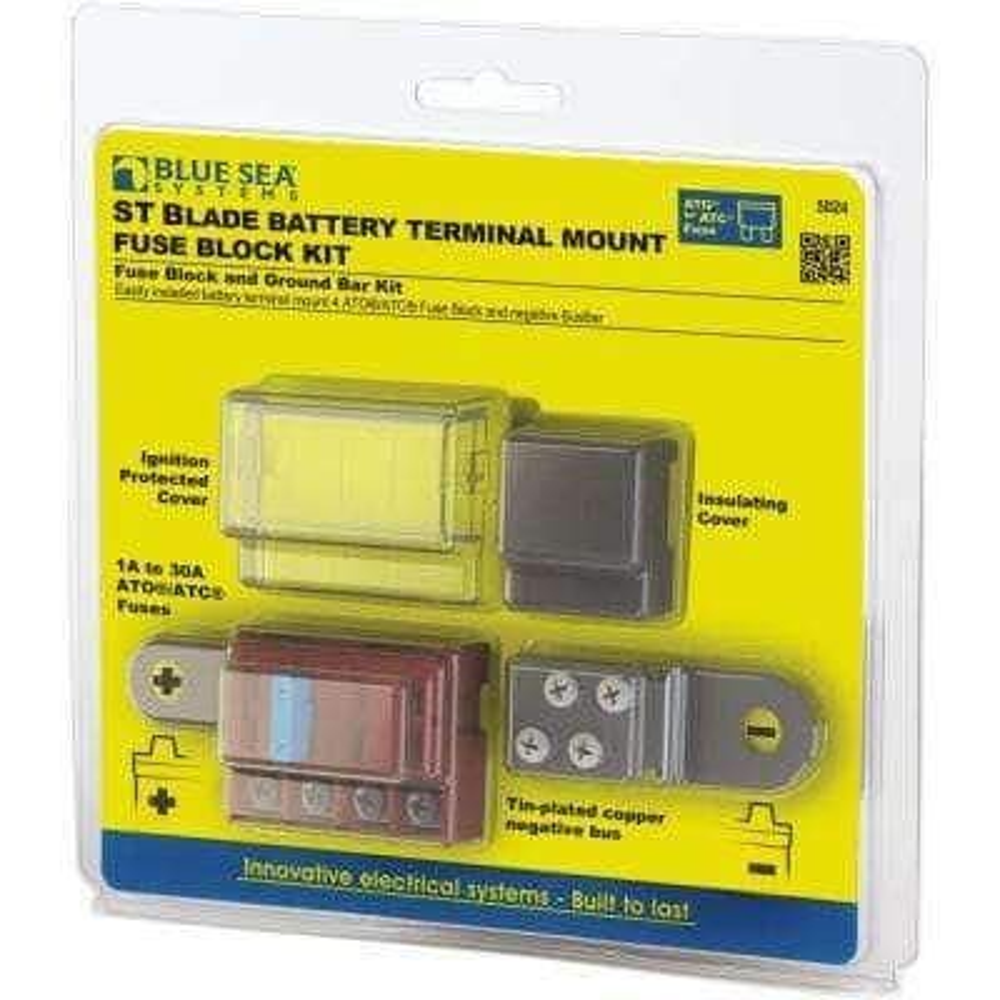 ST - Blade Battery Terminal Mount Fuse Block Kit