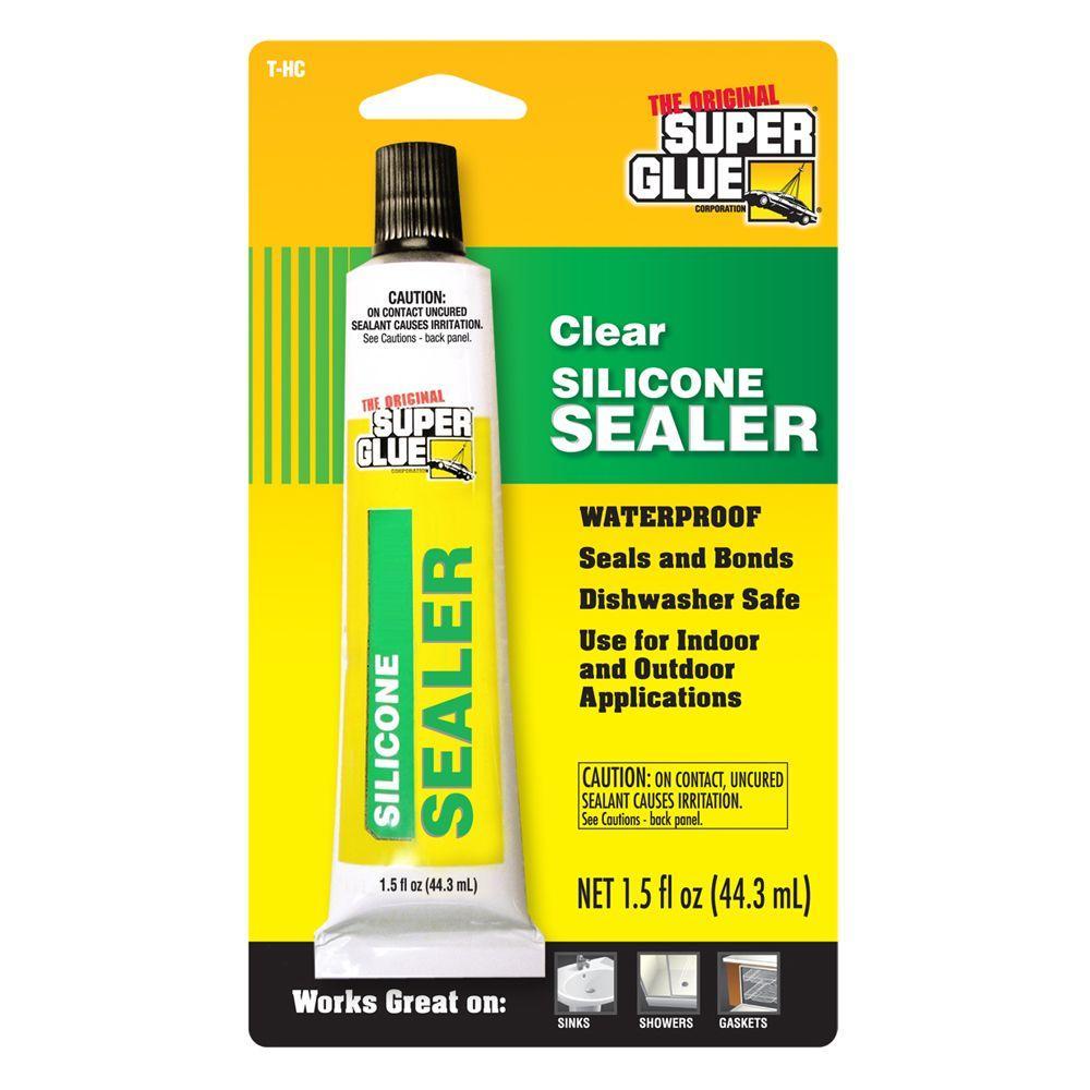 1.5 fl. oz. Silicone Sealant (12-Pack)