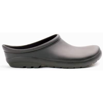 Women's Size 10 Black Premium Garden Clog Shoes
