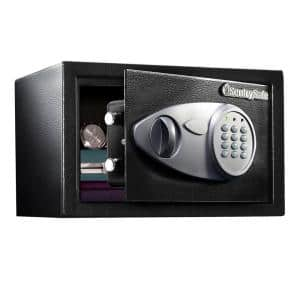 0.5 cu. ft. Electronic Safe with Key Override Lock