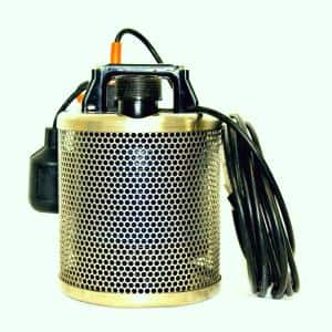 1/2 HP Fully Submersible Non-Clogging Dewatering Pump for Basements, Pools, Koi Ponds and Construction Sites