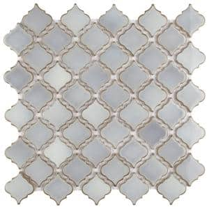 Hudson Tangier Grey Eye 12 in. x 12 in. Porcelain Mosaic Tile (10.96 sq. ft. / Case)