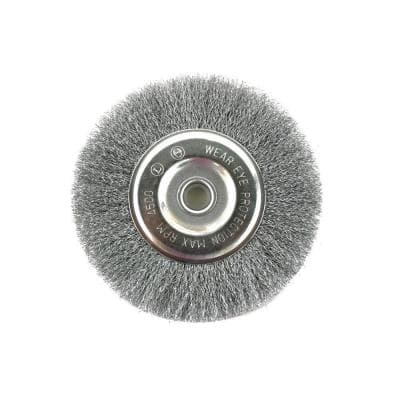 3 in. Crimped Wire Wheel