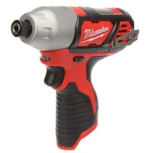 M12 12-Volt Lithium-Ion Cordless 1/4 in. Hex Impact (Tool-Only)