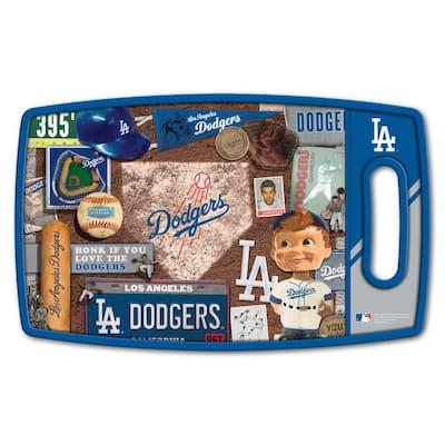 MLB Los Angeles Dodgers Retro Series Polypropyene Cutting Board