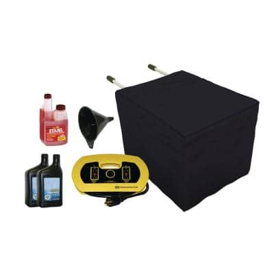 Universal Generator Accessory Kit (Includes Cords, Adapters, Oil, Cover, Stablizer)