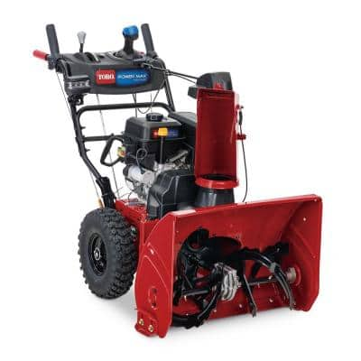 Toro Power Max 826 OHAE 26 in. 252cc Two-Stage Gas Snow Blower with Electric Start, Auto Steer, Hand Warmers & Headlight