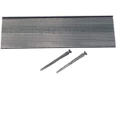 2 in. x 16-Gauge Tape 1M Stainless-Steel T-Head Hardwood Flooring Nails (1000 per Box)