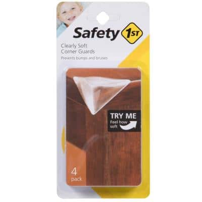 Clearly Soft Corner Guards (4-Pack)