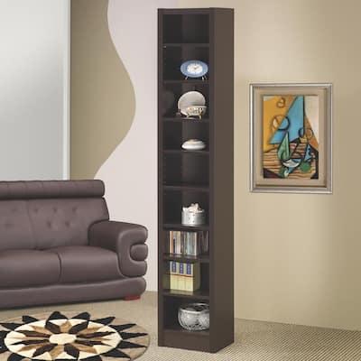Hopkins Cappuccino Bookcase