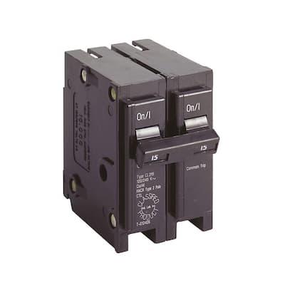 CL 15 Amp 2-Pole Circuit Breaker