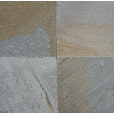 Golden Harvest 12 in. x 12 in. Natural Quartzite Floor and Wall Tile (5 sq. ft. / case)