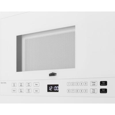 24 in. 1.4 cu. ft. Over the Range Microwave in White