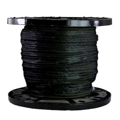 500 ft. 8/1 Black Stranded THHN Wire