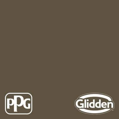 8 oz. PPG1024-7 Friar's Brown Flat Interior Paint Sample