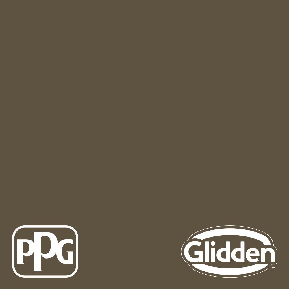 5 gal. PPG1024-7 Friar's Brown Satin Exterior Latex Paint