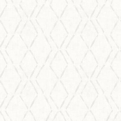 Tapa Cream Trellis Cream Wallpaper Sample