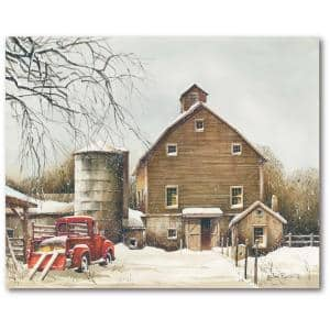 Clearing Out 30 in. x 40 in. Gallery-Wrapped Canvas Wall Art