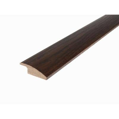 Solid Hardwood Lungo 0.38 in. T x 2 in. W x 78 in. L Reducer Molding