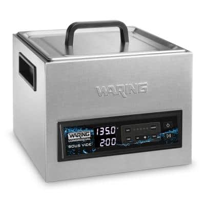 16-Liter (4.2 Gallon) Thermal Circulator, Silver, Rack and Rack Lift included