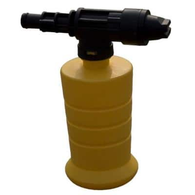 Soap Injector and Bottle for Electric Pressure Washer